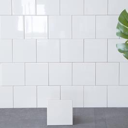 Arredo Flise Polar Hvid Blank 150 x150 mm