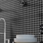 Arredo Klinkermosaik Titan Black Mat 25x25 mm (300x300)