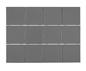 Arredo Klinker Unicolor Darkgrey 98x98 mm
