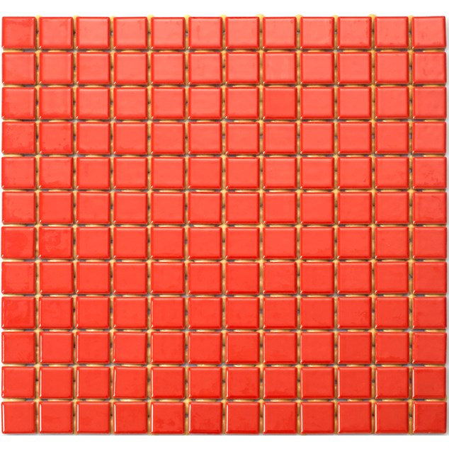 Arredo Mosaik Palette Red 25x25 mm (300x300)