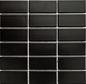 Arredo Klinkermosaik Titan Black Mat 45x95 mm (290x285)
