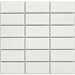 Arredo Klinker Mosaik Titan White Mat 45x95 mm (290x285)