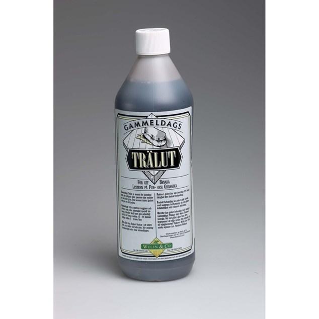 Gammeldags Trælud Grå 1 liter