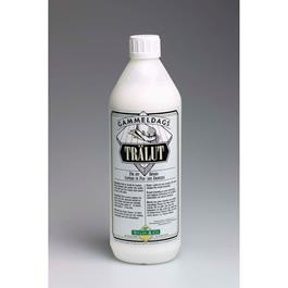 Gammeldags Trælud Hvid 1 liter