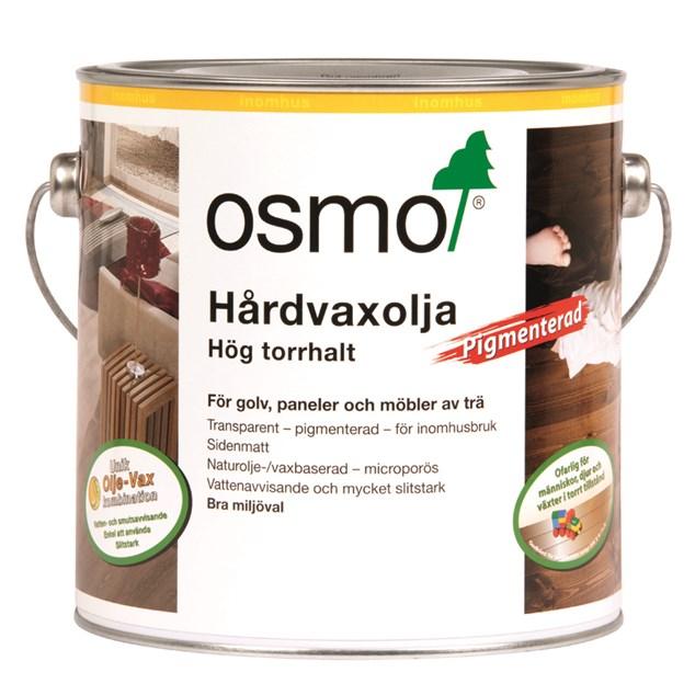 Osmo Hårdvoksolie 3072 Pigmenteret Rav - 2,5 L