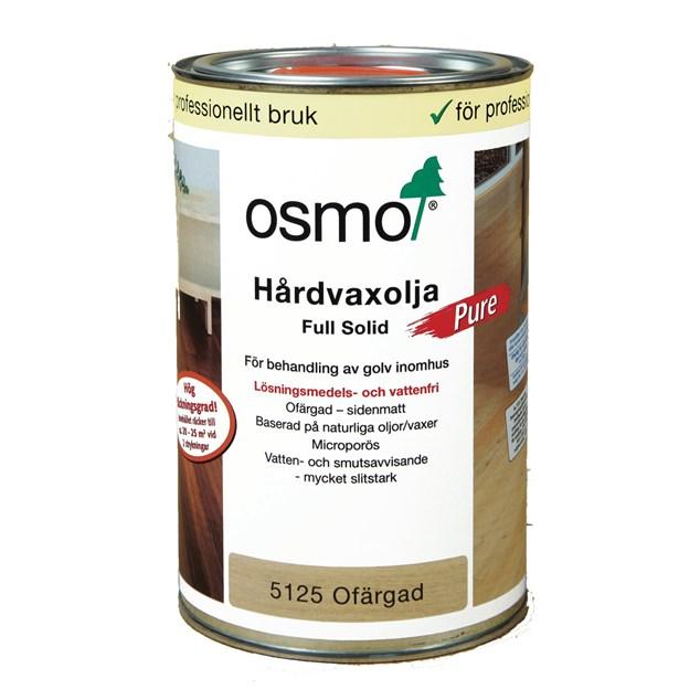 Osmo Hårdvoksolie 5125 Pure Fri fra opløsningsmiddel 1 L