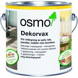Osmo 3161 Dekorvoks Ebenholts 0,75 Liter