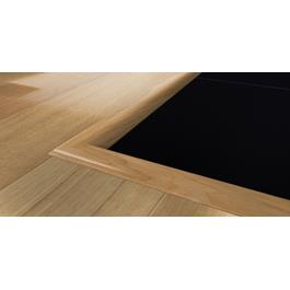 Kährs Massiv Niveauliste 42x12 mm til 7-13 mm inkl underlag- Eg mat lak