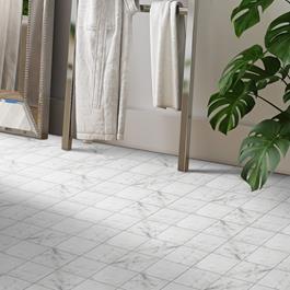 Klinker Ceramiche Coem Marmor Carrara mat 150x150 mm