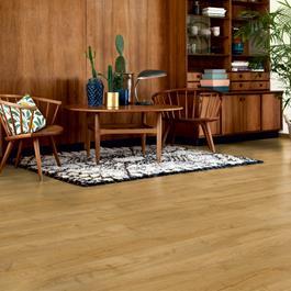 Laminatgulv Pergo Modern Plank 4V Sensation Manor Oak 1-stav Living Expression