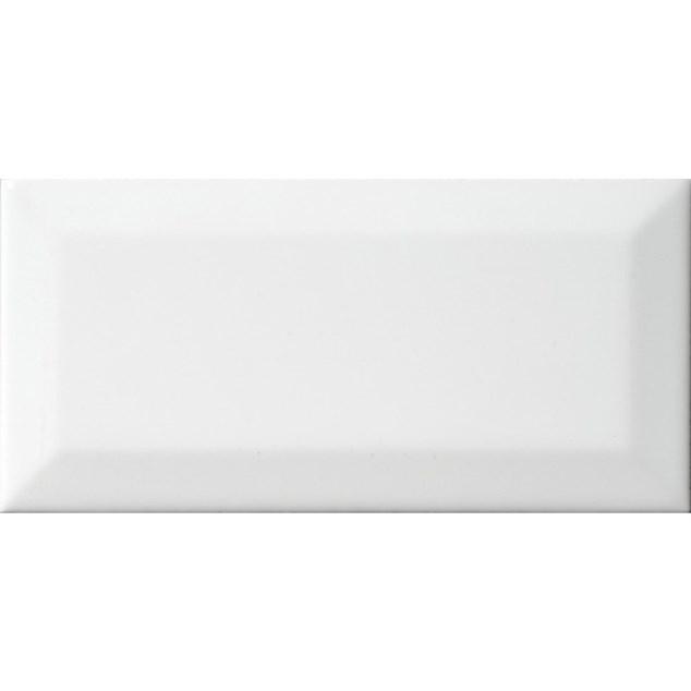 Arredo Metroflise Biselado Hvid Facet-kant - Mat - 75x150 mm