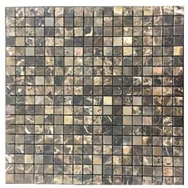Arredo Marmor Dark Emperador honed 15x15 mm (305x305x10)