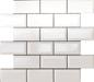 Arredo Metroflise Biselado Hvid Facet-kant - Blank - 50x100 mm (305x309)