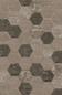 Klinker Marca Corona Bricklane Mix Olive Heksagon 250x216 mm