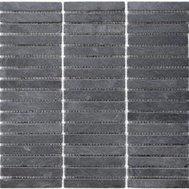 Arredo Natursten Skifer Svart Stripes15x97 mm (300x300)