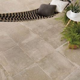 Klinker Ceramiche Keope K2 Extreme Beige 600x600x20 mm - Udendørs klinker