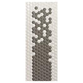 Vægflise Natucer Ceramica Natural Hex Grey 3D 34x32,6 (6,5x5,7)
