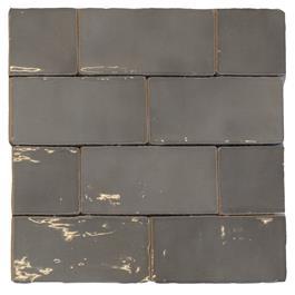 Vægflise Natucer Ceramica Natural Cotswold Mix Grey 7,5x15