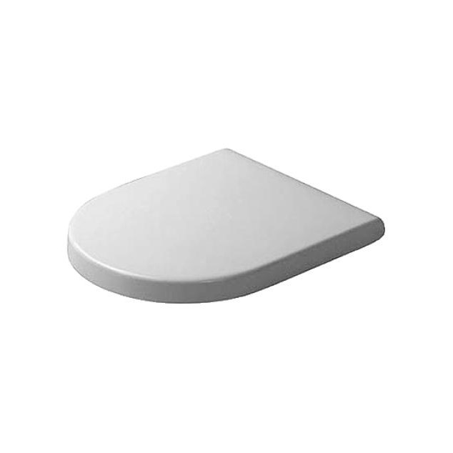 Duravit Toiletsæde Starck 3 - Softclose Hvid