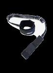 Leash coil for fot, length 1.5 m, color black