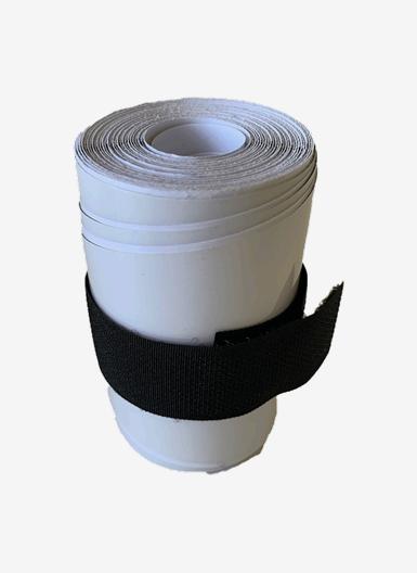 Skyddstejp för din hårda SUP, genomskinlig, storlek 3.5x83