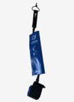 Leash for the ancle, length 6 inch, color blue