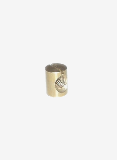 Kona One brass nut for fin, size 9 mm X 11,7 mm