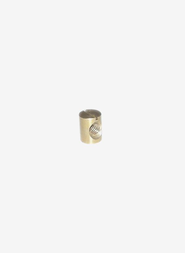 Kona One mässingsmutter för fena, storlek 9 mm x 11,7 mm