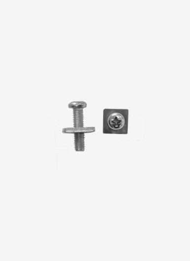 Screw and washer for standard US-box