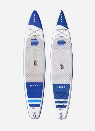 Kona Core Air SUP 12.6 and Kona Cruiser Air SUP 12.6