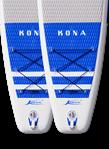 2 pcs Kona Cruiser Air SUP 12.6