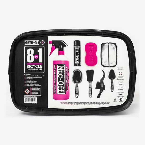 Muc-Off Tvättkit 8 in 1 Bicycle Cleaning Kit