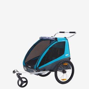 Thule Cykelvagn Coaster XT Blå