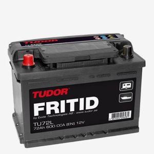 Fritidsbatteri Tudor TU 72-L