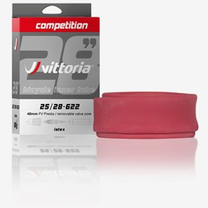 Vittoria Cykelslang Competition Latex 25/28-622 Racerventil 48mm