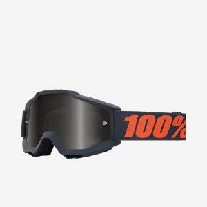 Crossglasögon 100% Accuri Gunmetal Sand