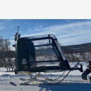 Snöskoterpulka Pulkapanorama ÅF