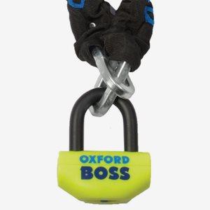 Lås Oxford Boss + kätting med ögla 2,5m
