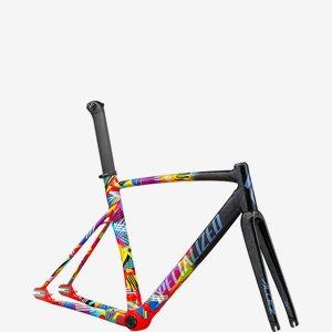 Specialized Cykelram Allez Sprint Track Svart/Röd