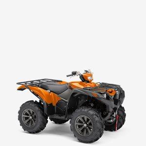 Yamaha Fyrhjuling Grizzly 700 EPS SE Orange Traktor B, 2021