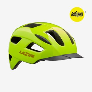Cykelhjälm Lazer Lizard MIPS Flash Yellow