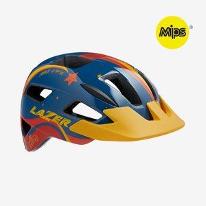 Lazer Cykelhjälm Lil-Gekko Mips Blå/Orange