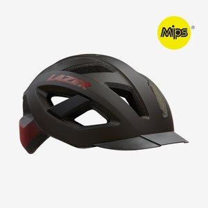 Cykelhjälm Lazer Cameleon Matte Black Red
