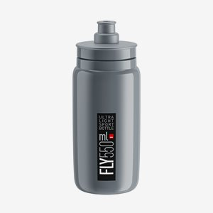 Elite Cykelflaska FLY Grå 550ml