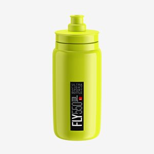 Elite Cykelflaska FLY Gul 550ml