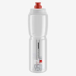 Elite Cykelflaska Jet Klar 950ml