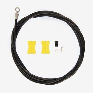 Shimano Bromsslang SM-BH90 rak koppling 170 cm svart