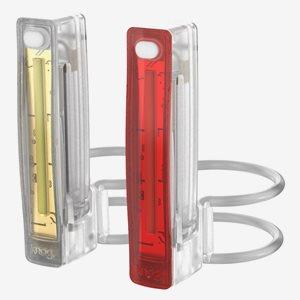 Lampset Knog Plus, transparent