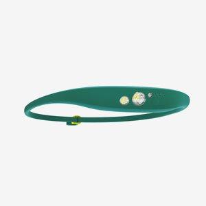 Pannlampa Knog Quokka 80, grön