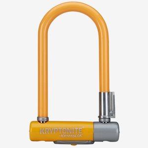 Kryptonite BygellåsKryptolok 2 Mini7 Med Ramfäste Orange